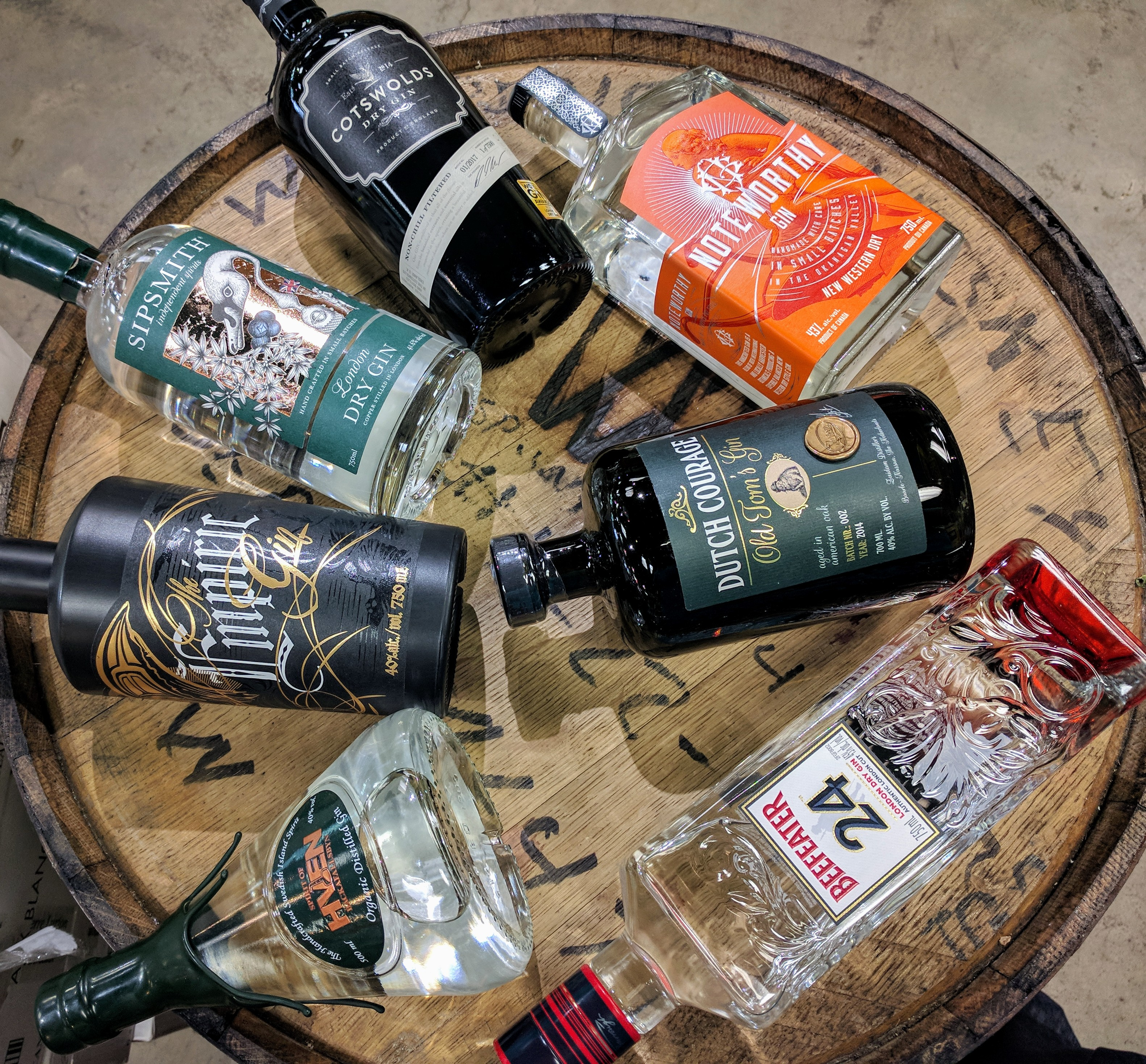 GIN! An exposé on Gin and Hunter   The Kensington Wine ...